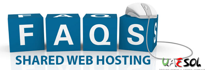 shared web hosting FAQs, Dubai